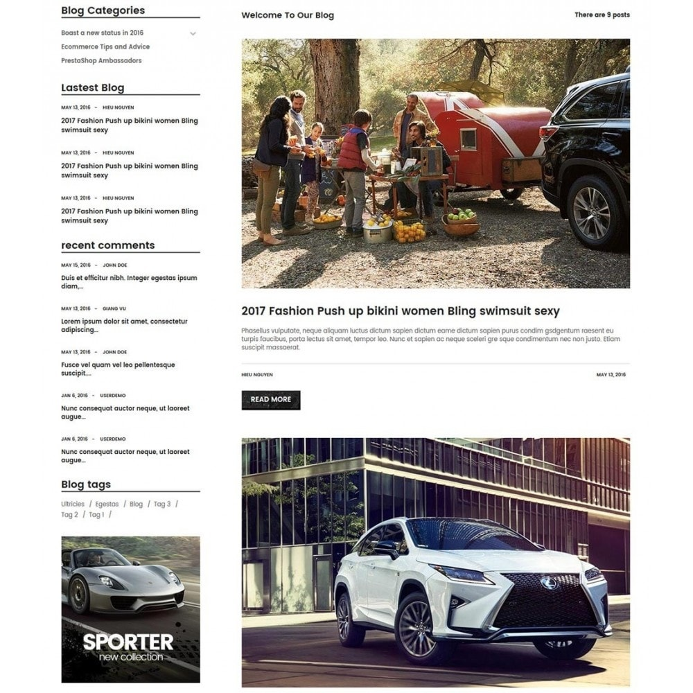 theme - Auto's & Motoren - Water Automotive & Cars - 7