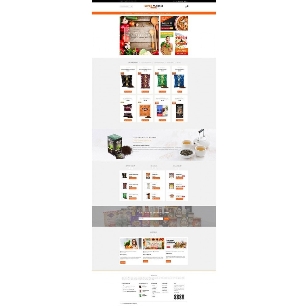 theme - Eten & Restaurant - Supermarket Grocery Shop - 5