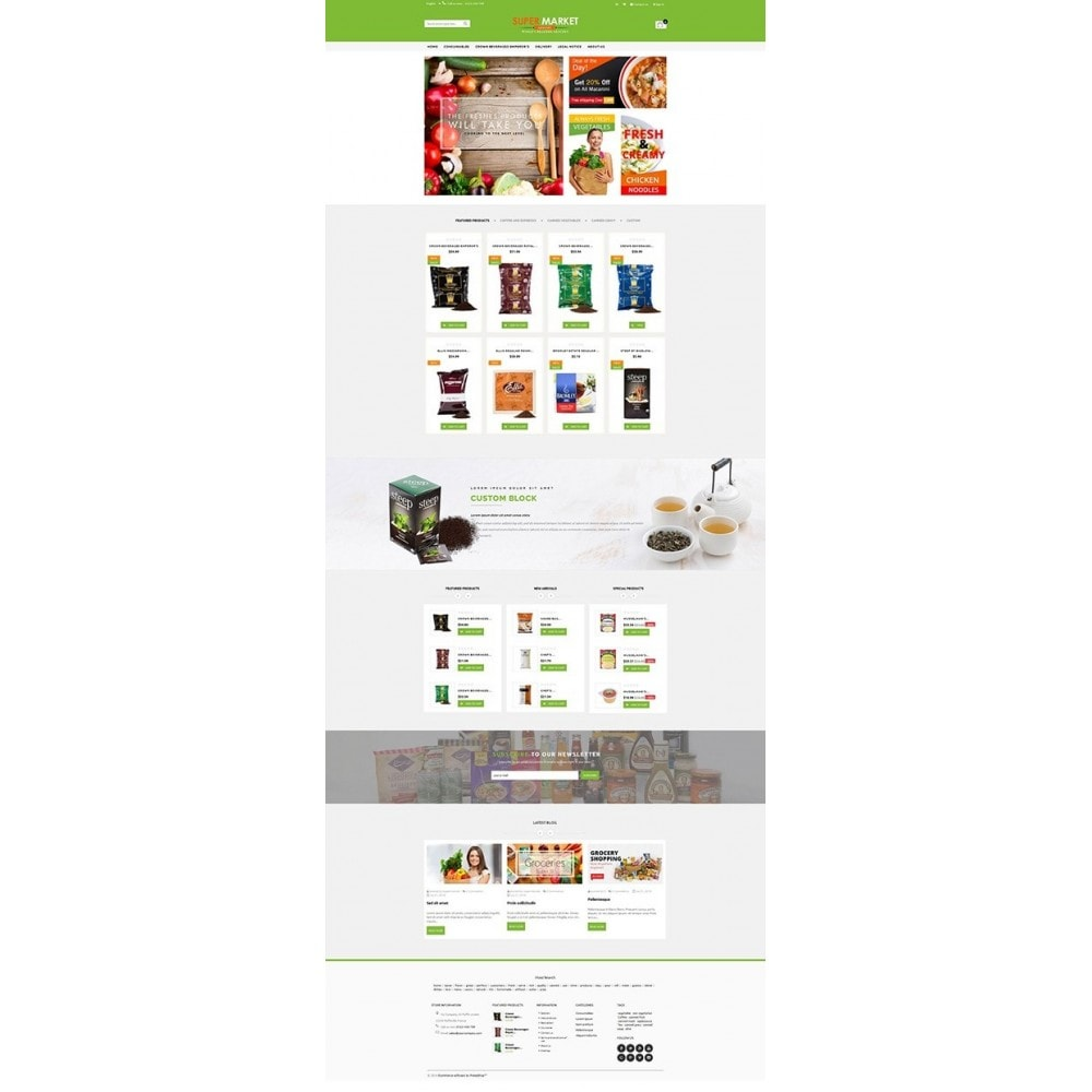 theme - Food & Restaurant - Supermarket Grocery Shop - 9