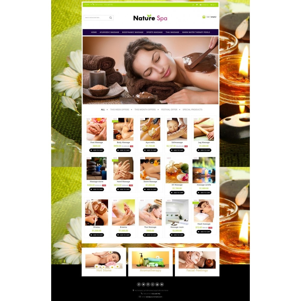 theme - Salute & Bellezza - Natural Spa Elegant - 12