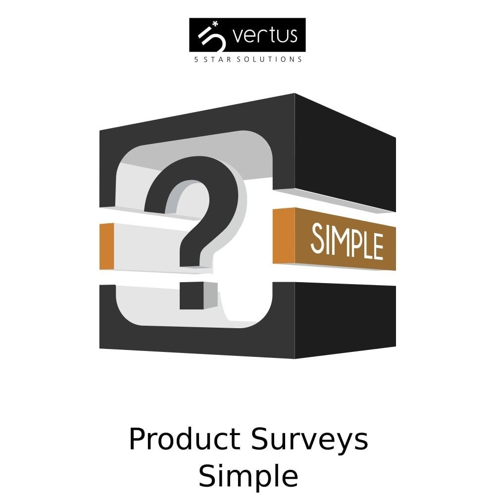 module - Contactformulier & Enquêtes - Product Surveys Simple - 1