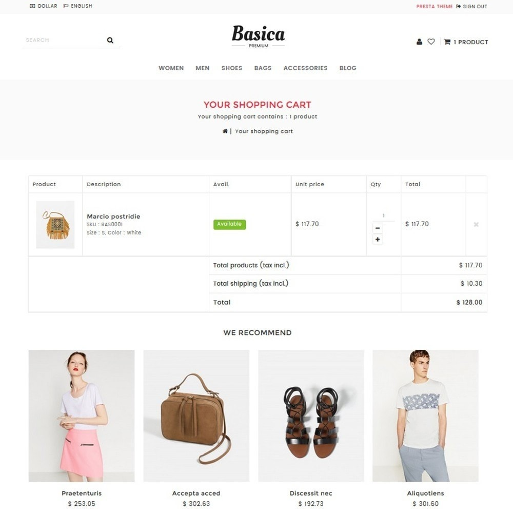 theme - Fashion & Shoes - Basica - 4