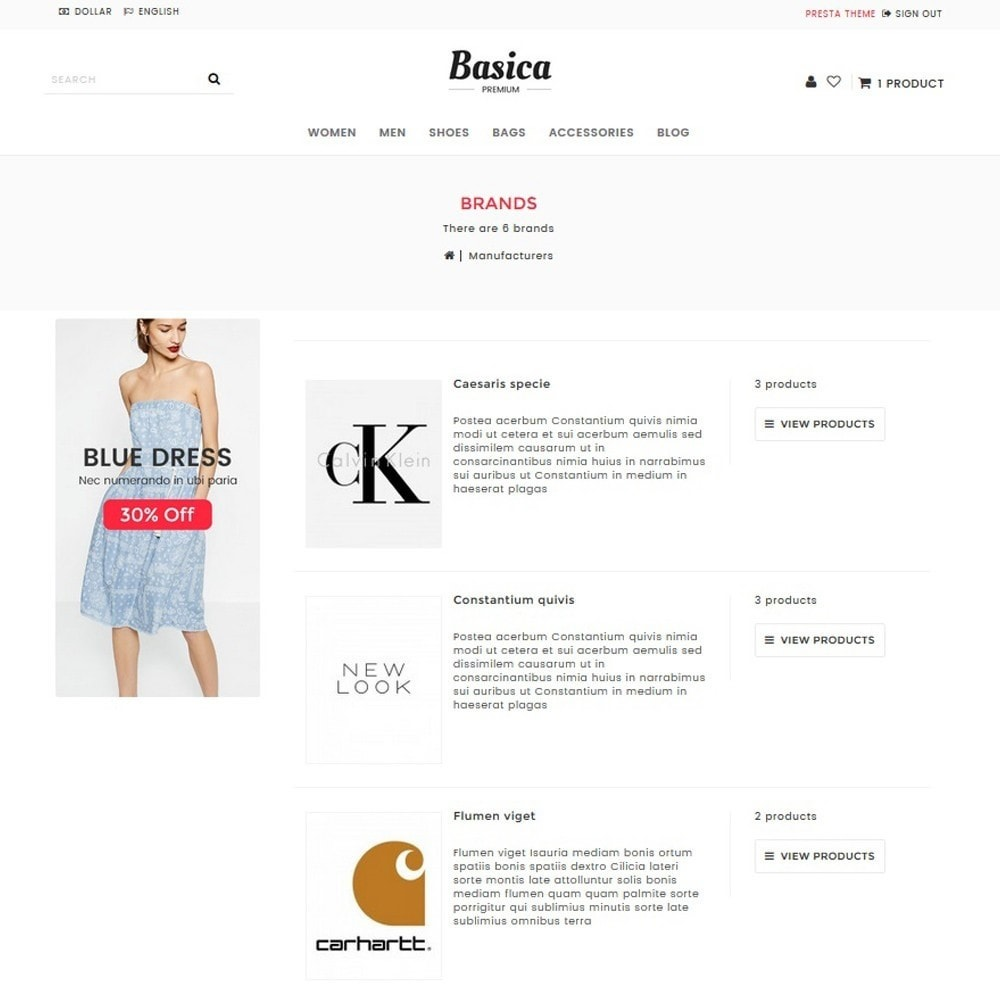 theme - Fashion & Shoes - Basica - 8