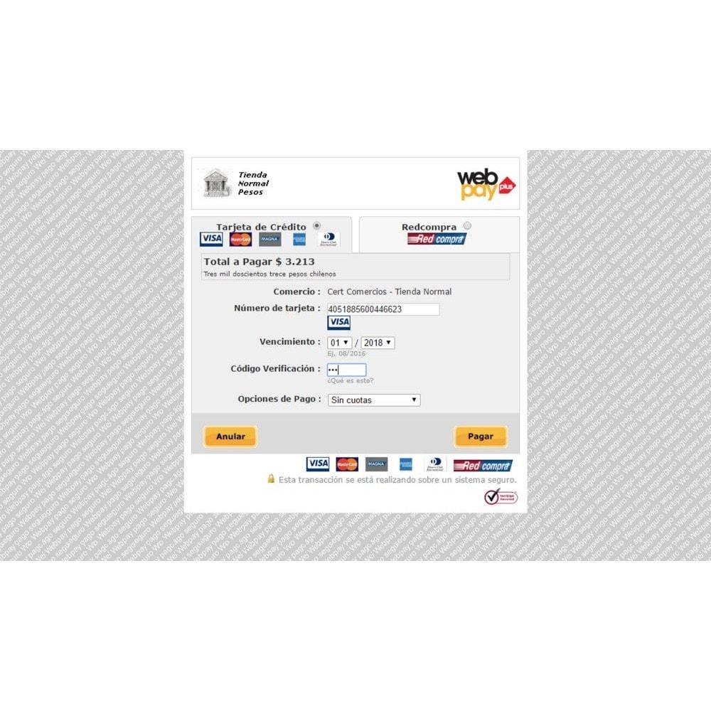 module - Pagamento por cartão ou por carteira - WebPay OneClick Transbank by Softwareagil - 4