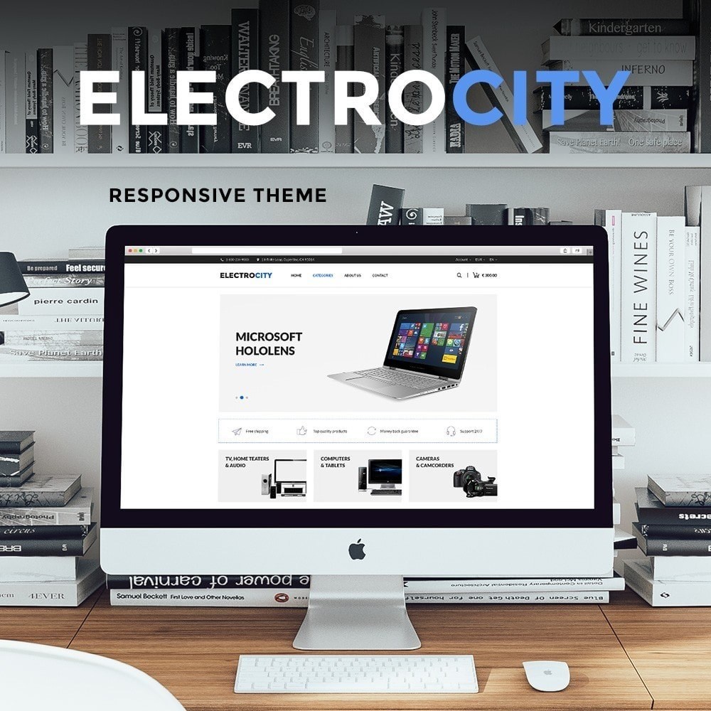 theme - Elettronica & High Tech - ElectroCity Store - 1