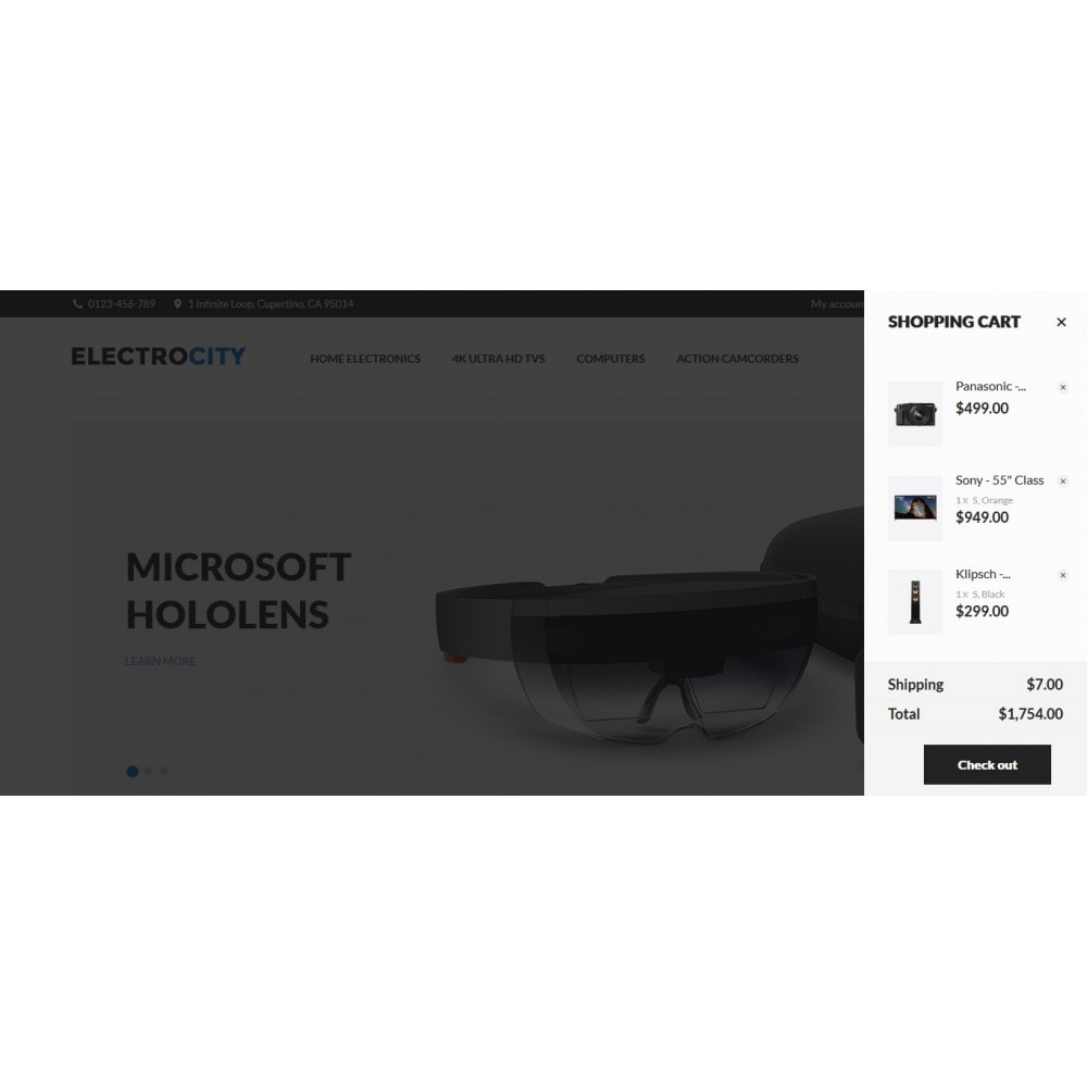 theme - Electronique & High Tech - ElectroCity Store - 4