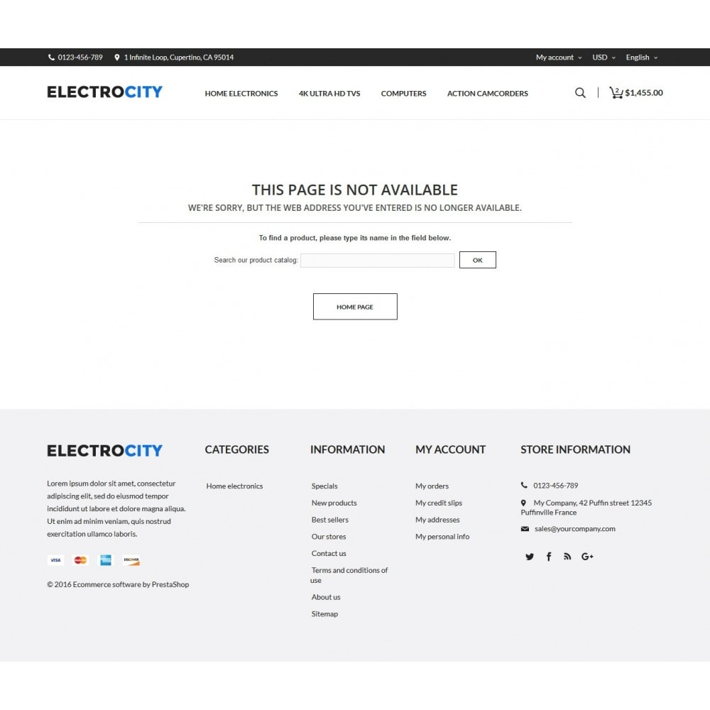 theme - Electronique & High Tech - ElectroCity Store - 8