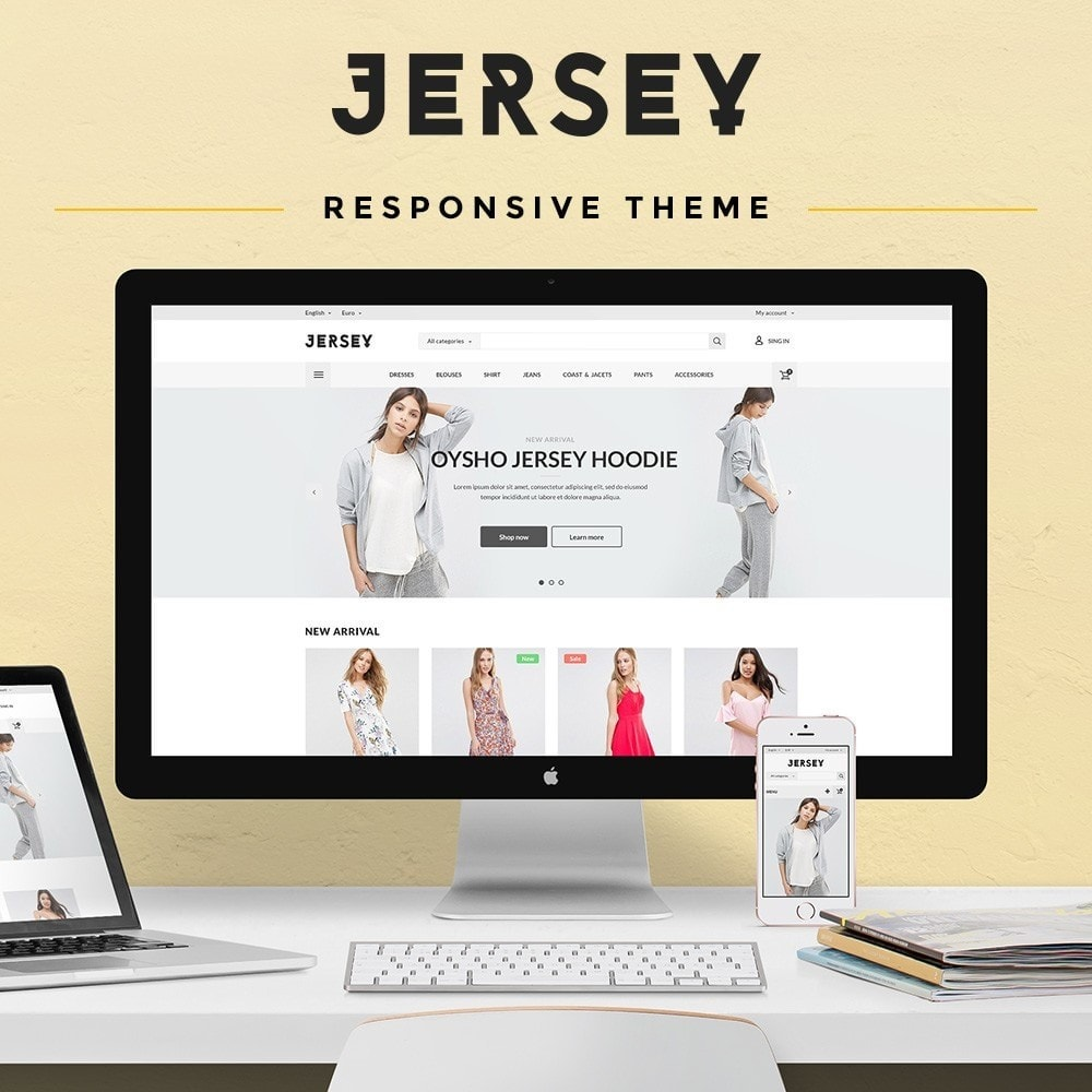 theme - Mode & Schuhe - Jersey Fashion Store - 1