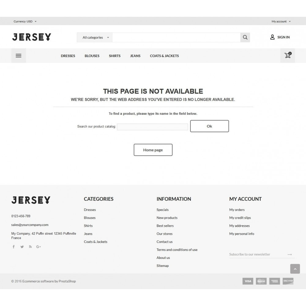 theme - Mode & Chaussures - Jersey Fashion Store - 9