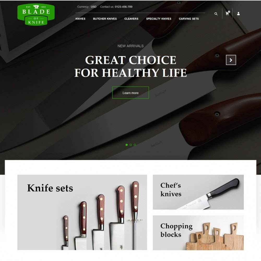 theme - Home & Garden - BladeOfKnives Store - 2