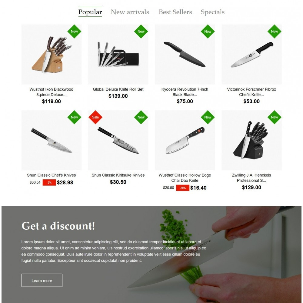 theme - Home & Garden - BladeOfKnives Store - 3