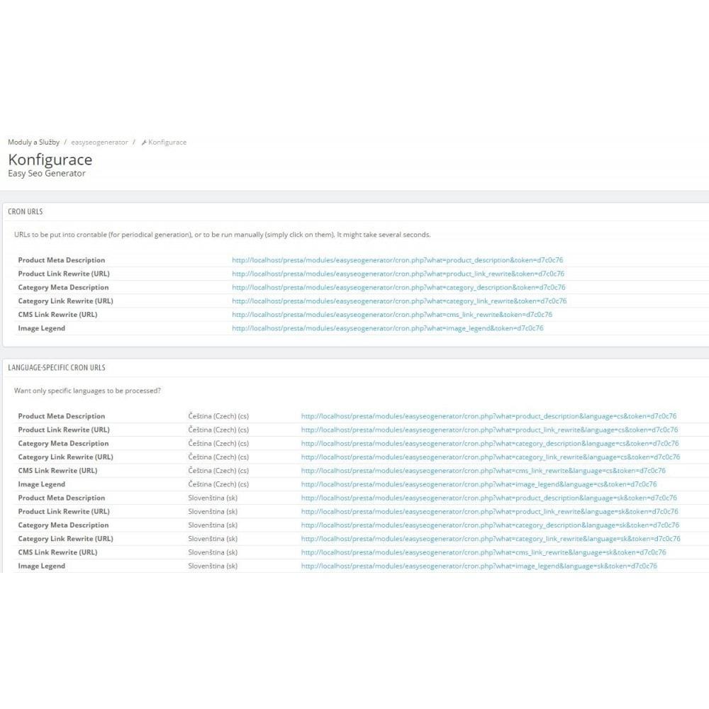 module - SEO (Posicionamiento en buscadores) - Easy Seo Generator - 1