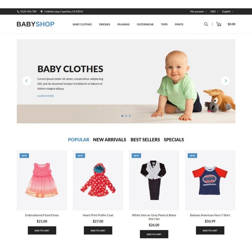 theme - Crianças & Brinquedos - Baby Shop - 2