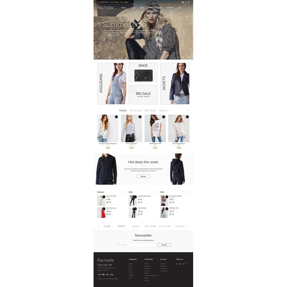 theme - Moda & Calzature - Rachelle Fashion Store - 10