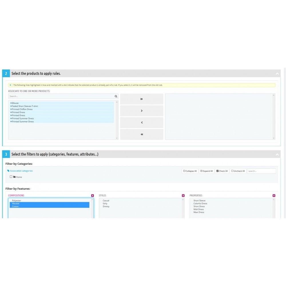 module - Ventes croisées & Packs de produits - Produits liés / Complémentaires Premium + BuyBox. - 1