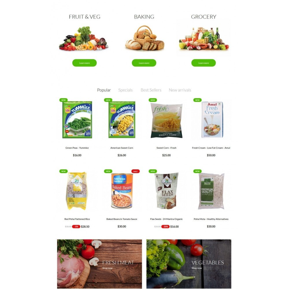 theme - Lebensmittel & Restaurants - Real Food Store - 3