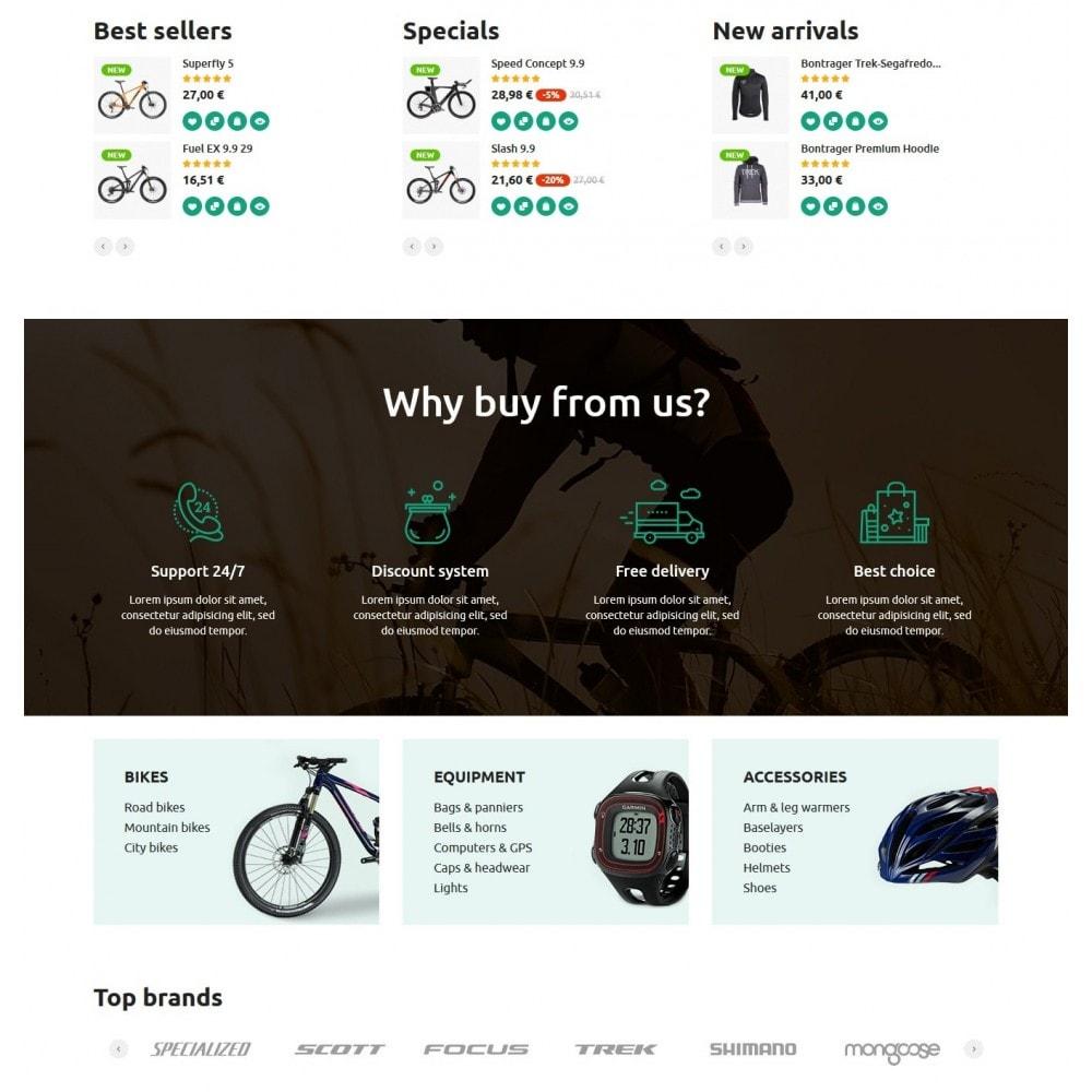 theme - Спорт и Путешествия - Bike Rider Store - 3