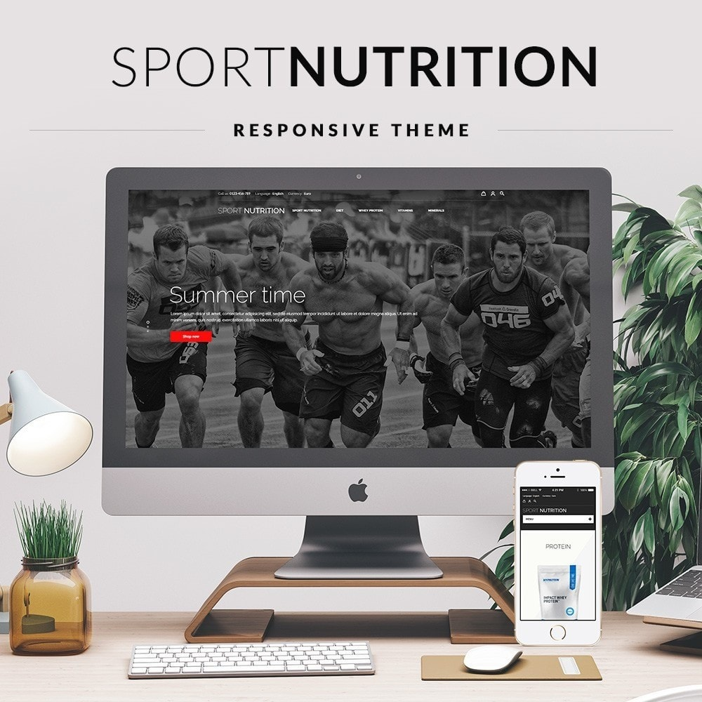 theme - Sport, Loisirs & Voyage - Sport Nutrition Store - 1