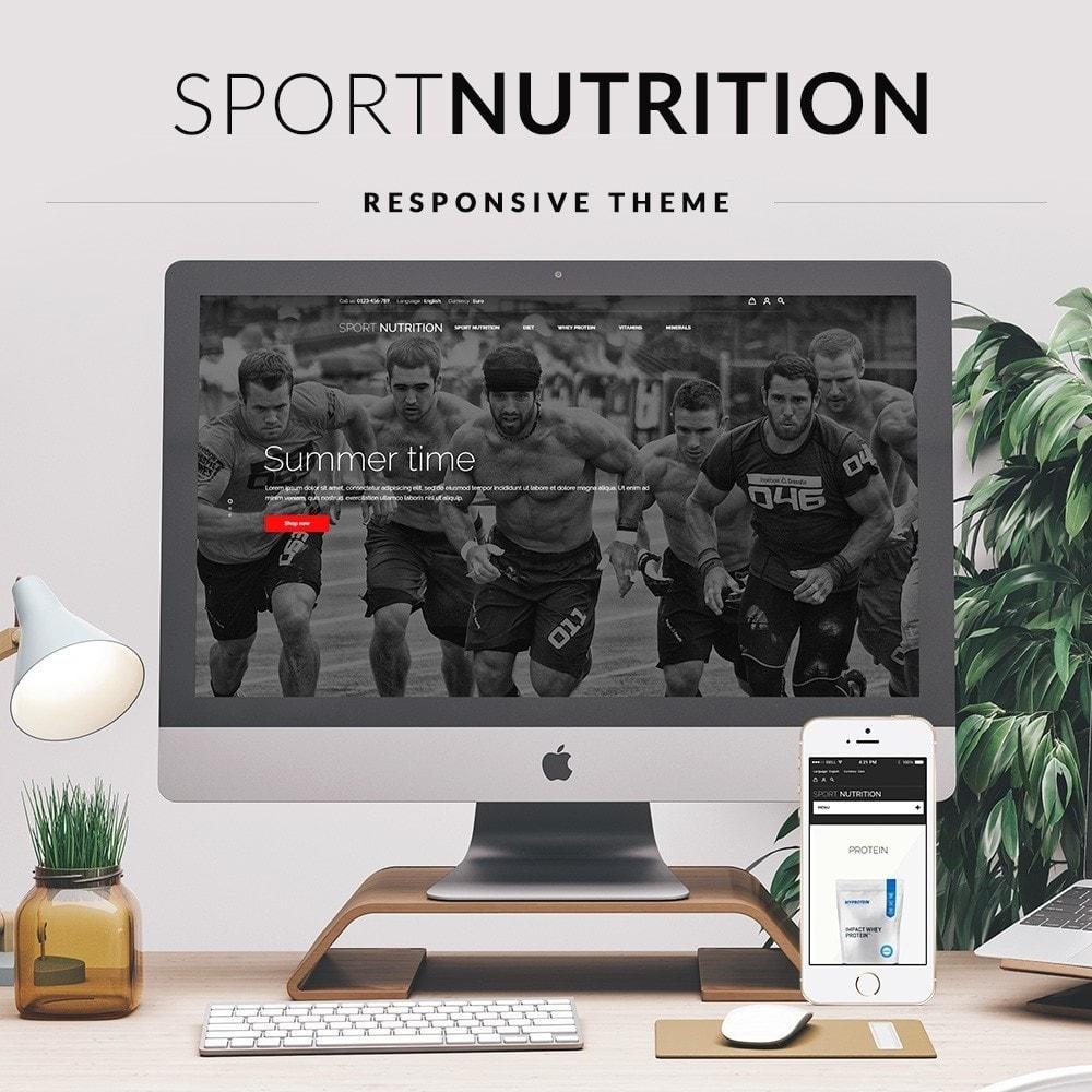 theme - Sport, Rozrywka & Podróże - Sport Nutrition Store - 1