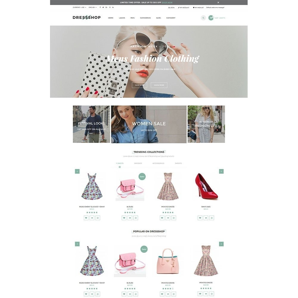 theme - Moda y Calzado - Dressshop Fashion Store - 2