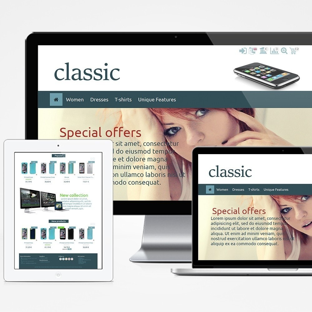 theme - Elettronica & High Tech - Classic - 1