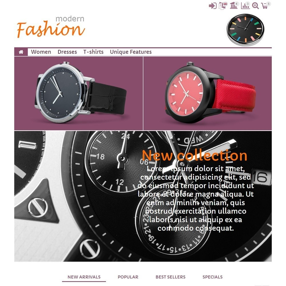 theme - Мода и обувь - Modern Fashion - 2