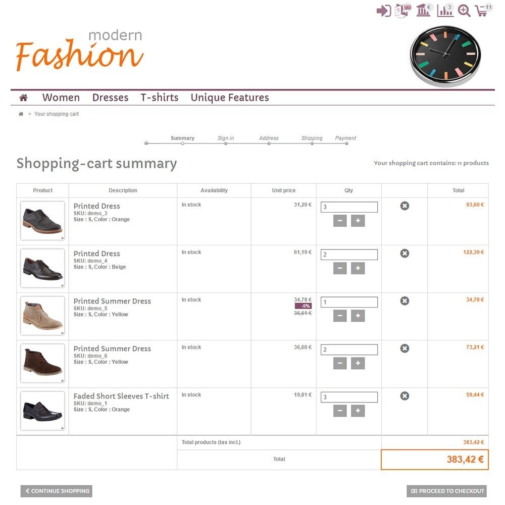 theme - Мода и обувь - Modern Fashion - 5