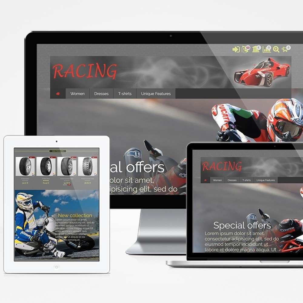 theme - Coches y Motos - Racing - 1
