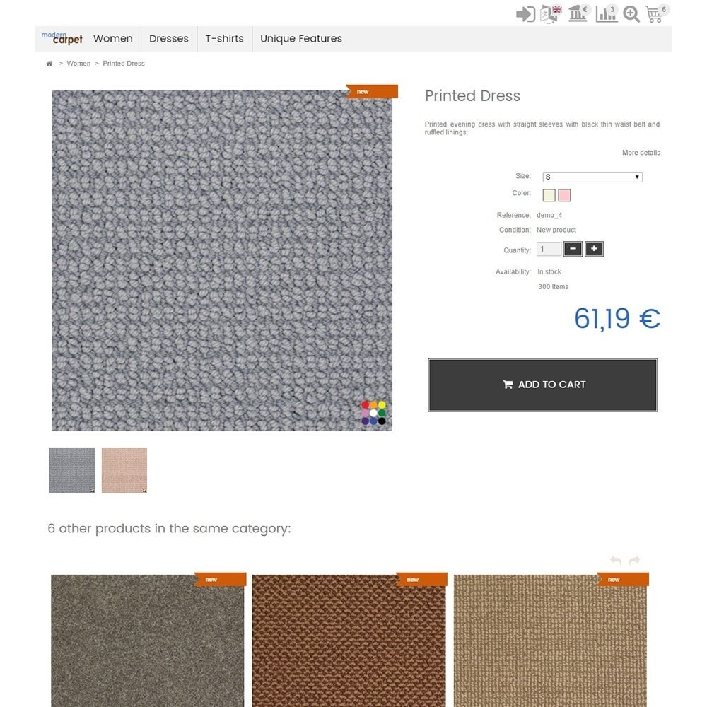 theme - Home & Garden - Modern Carpet - 4
