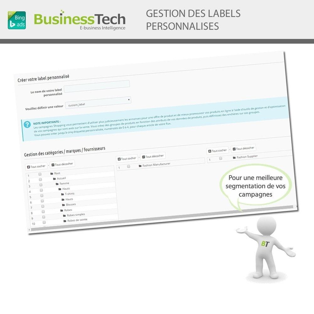 module - Référencement payant (SEA SEM) & Affiliation - Bing Merchant Center pour Bing Product Ads - 5