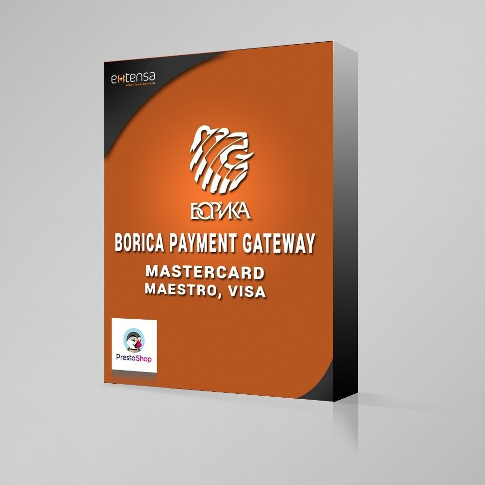 module - Payment by Card or Wallet - Payment gateway via BORIKA system - 1