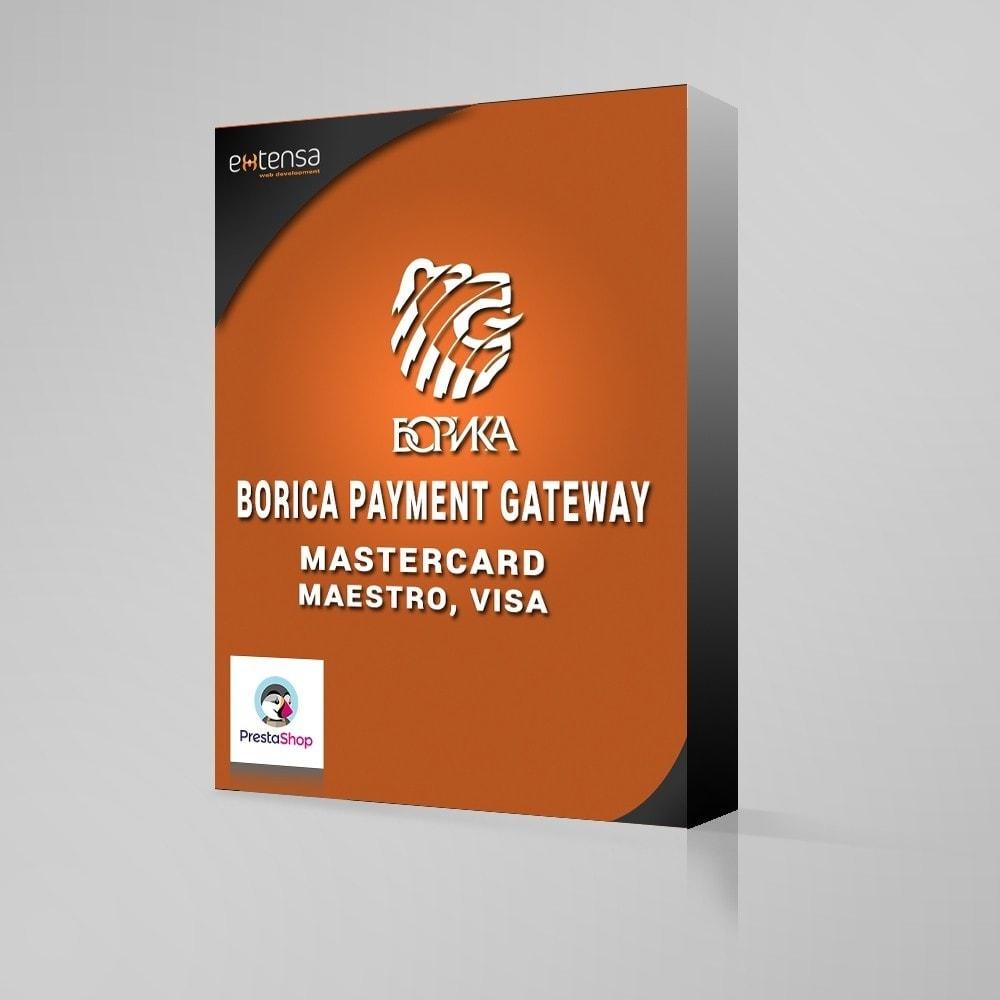 module - Оплата банковской картой или с помощью электронного кошелька - Payment gateway via BORIKA system - 1