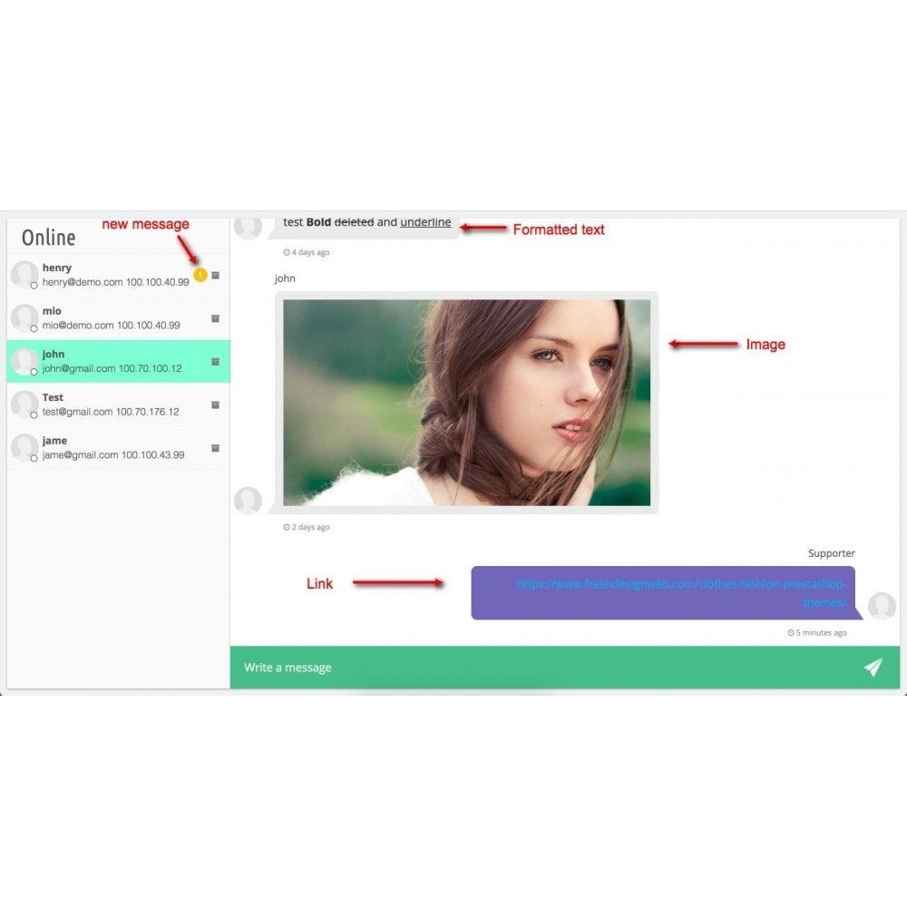 module - Support & Online Chat - Live Chat Pro - 9