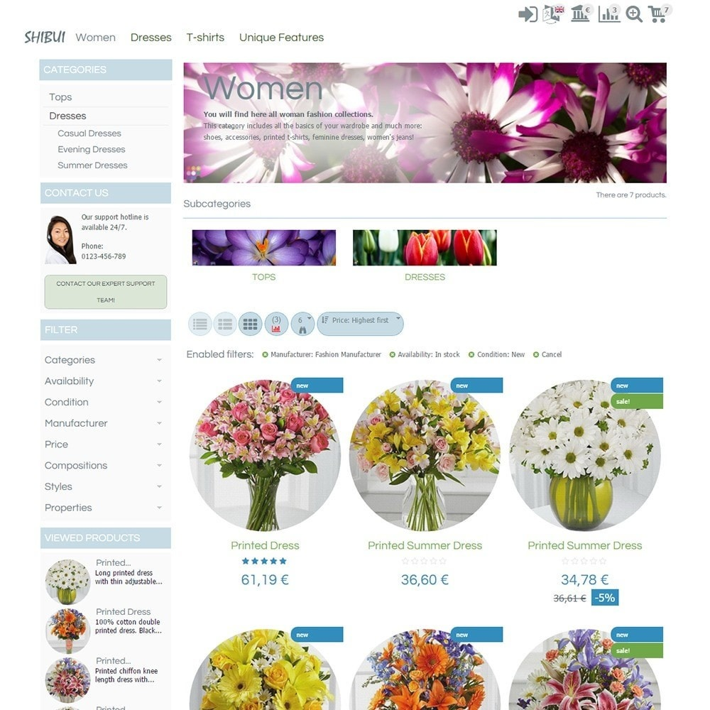 theme - Geschenke, Blumen & Feiern - Shibui - 3