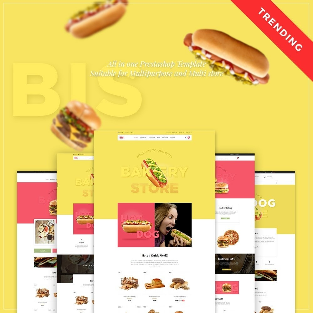 theme - Lebensmittel & Restaurants - Leo Bis - 1