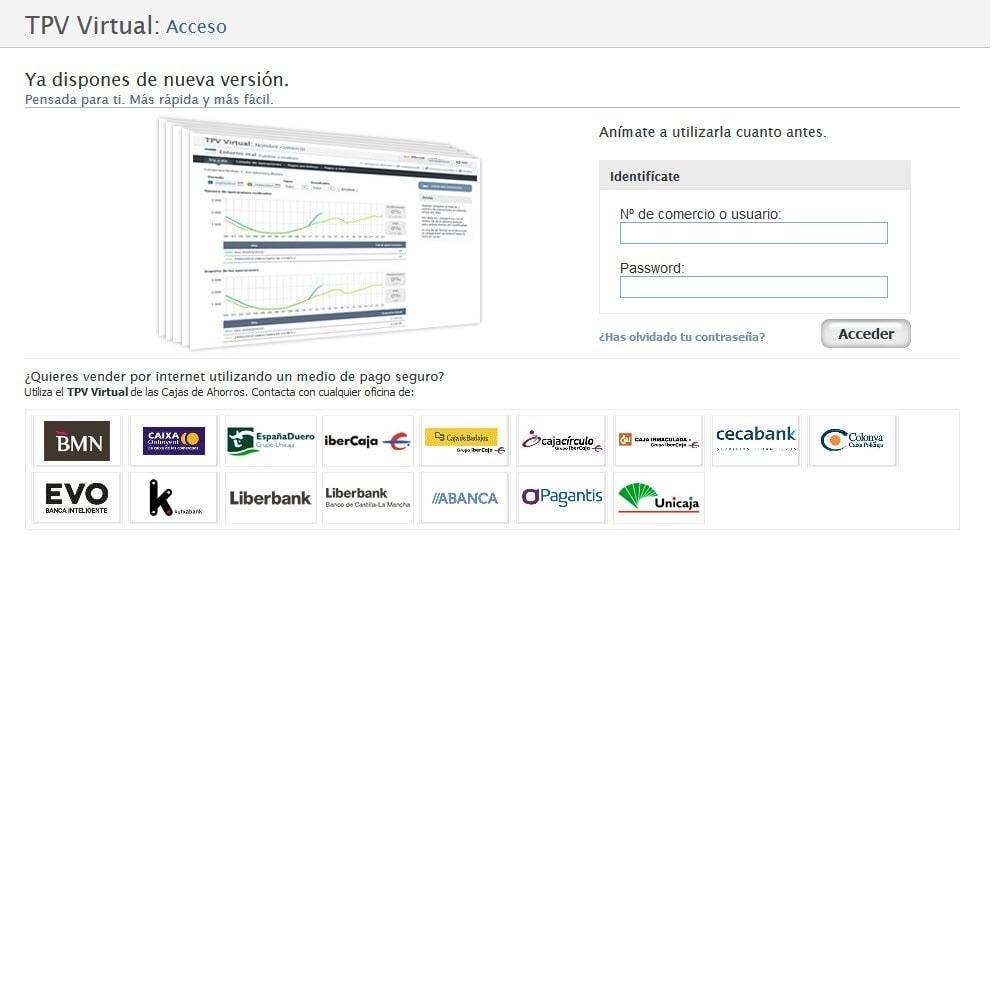 module - Pago con Tarjeta o Carteras digitales - TPV CECA COMPLETO (Pago seguro + Devoluciones) - 8