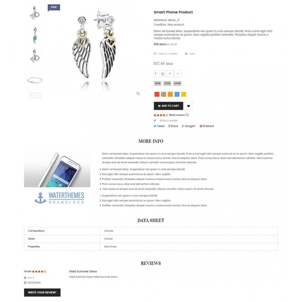 theme - Bellezza & Gioielli - Water Jewelry & Accessories - 6