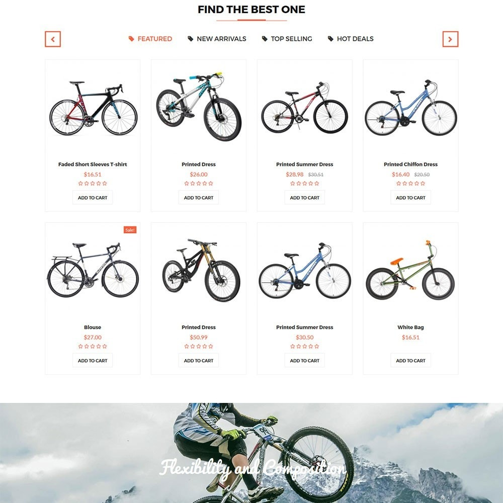 theme - Sports, Activities & Travel - Citybikes Sport Gear - 3