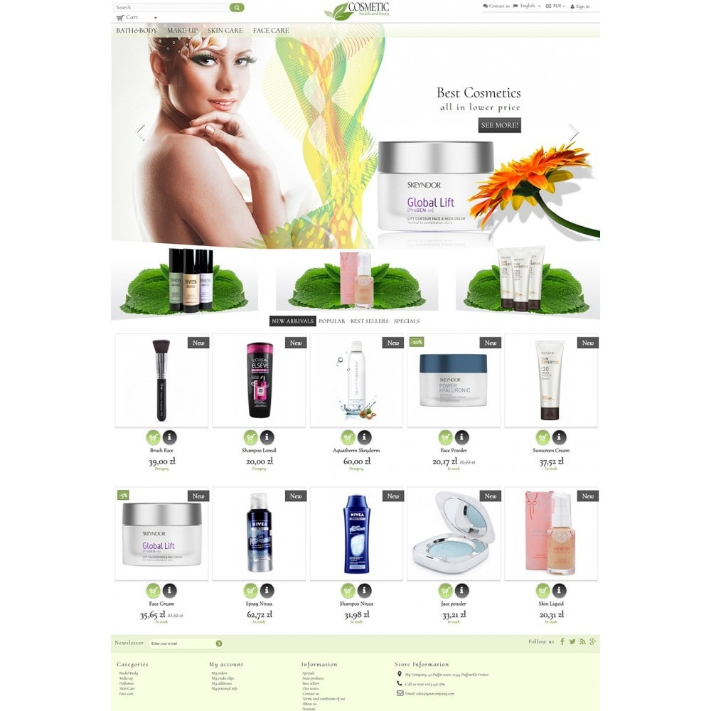 theme - Health & Beauty - Cosmetic - 2