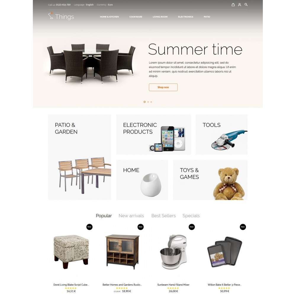 theme - Casa & Jardins - Things Shop - 2