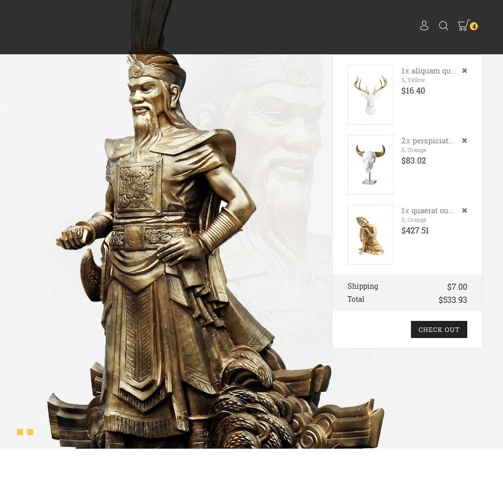 theme - Искусство и Культура - History/Statue Store - 8