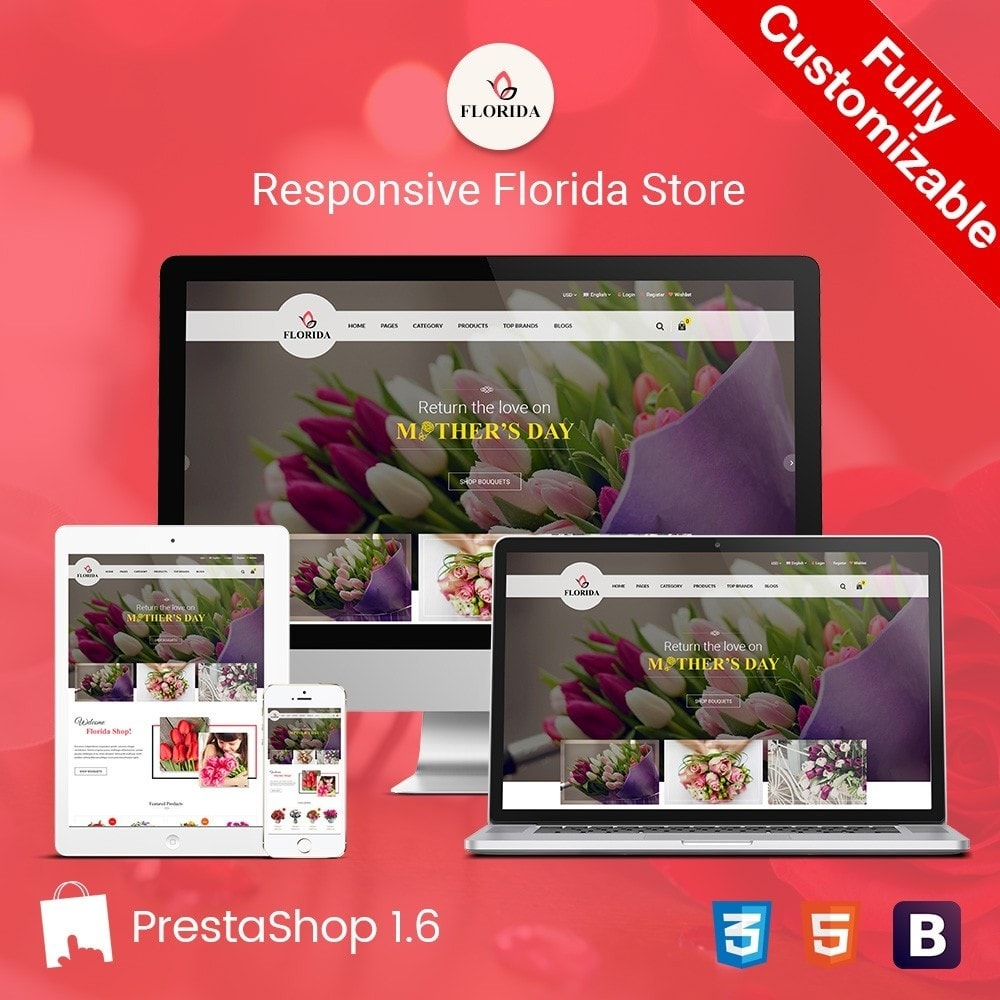 theme - Salute & Bellezza - FLORIDA | Flower Shop - 1