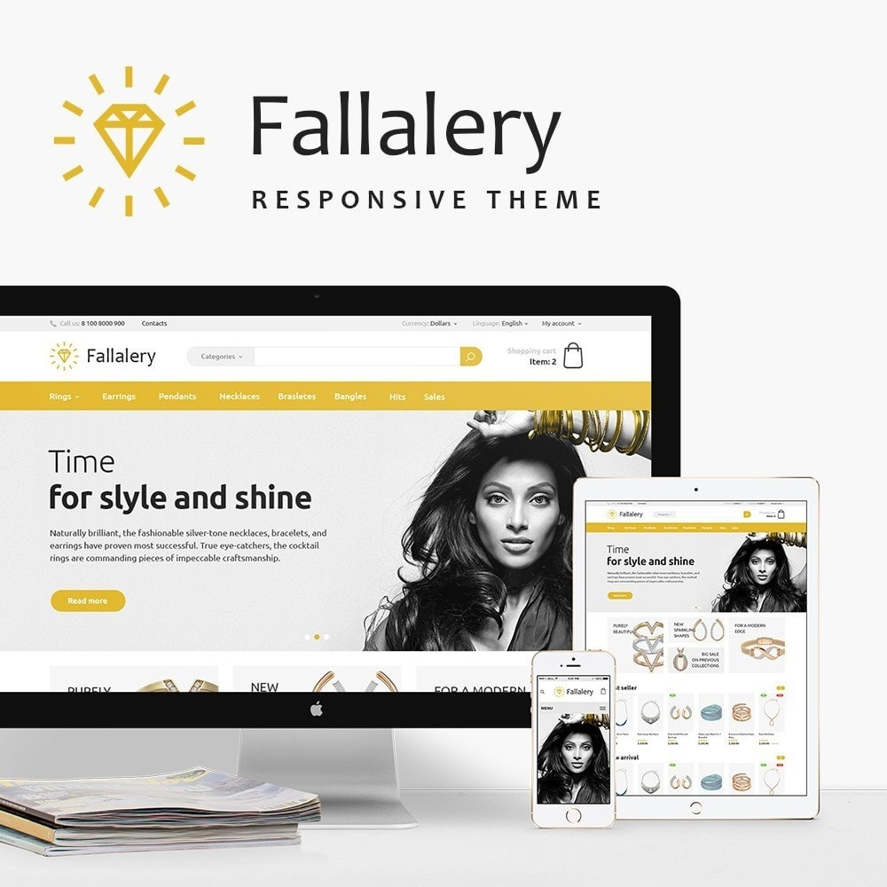 theme - Jewelry & Accessories - Fallalery Shop - 1
