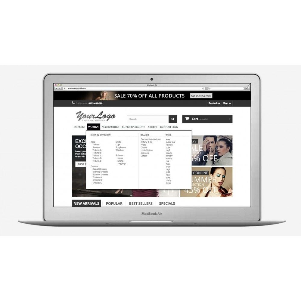 module - Menü - ShopBy Top navigation menu - 1