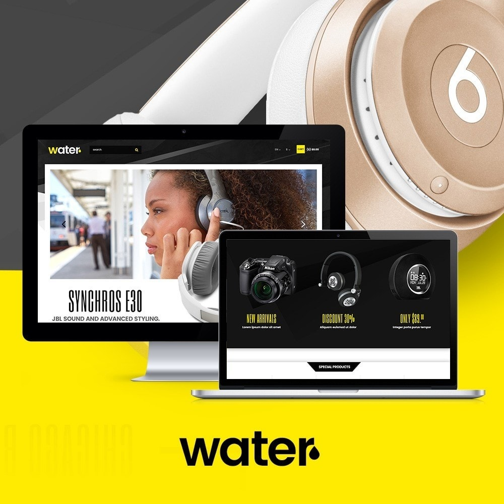 theme - Eletrônicos & High Tech - Water Electronic Store - 1
