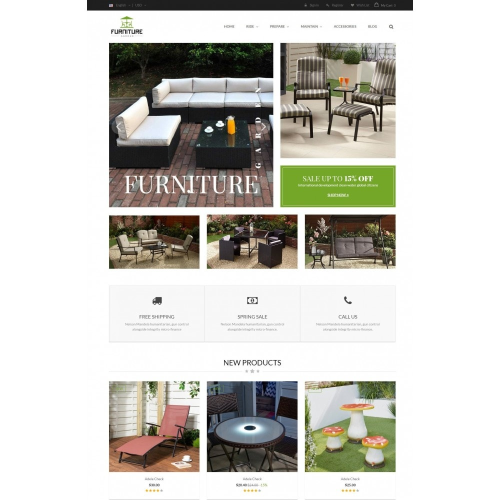 theme - Maison & Jardin - GARDEN | Comeback Furniture Home Store - 2