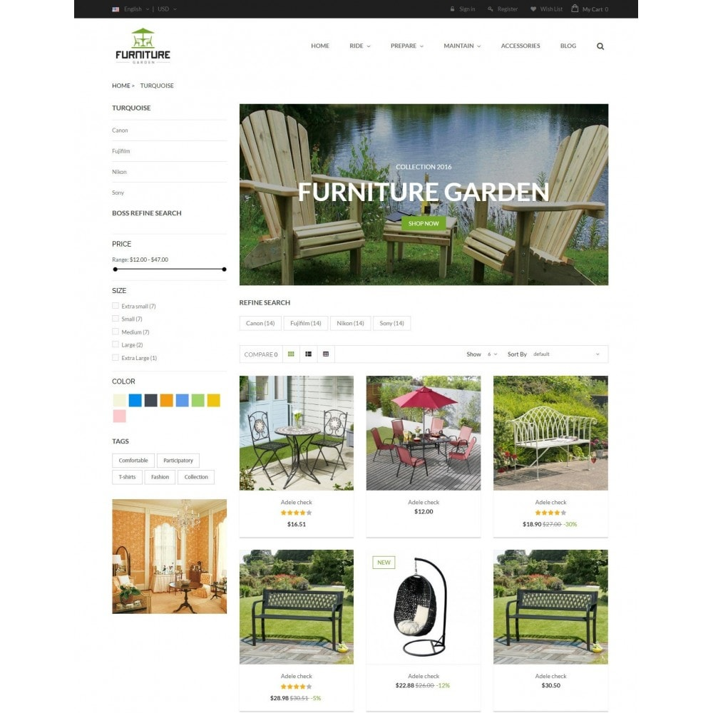theme - Maison & Jardin - GARDEN | Comeback Furniture Home Store - 3