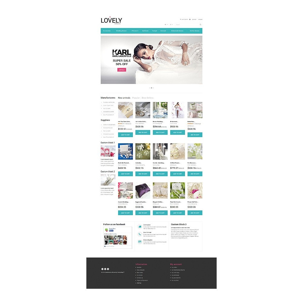 theme - Temas PrestaShop - Lovely - 2