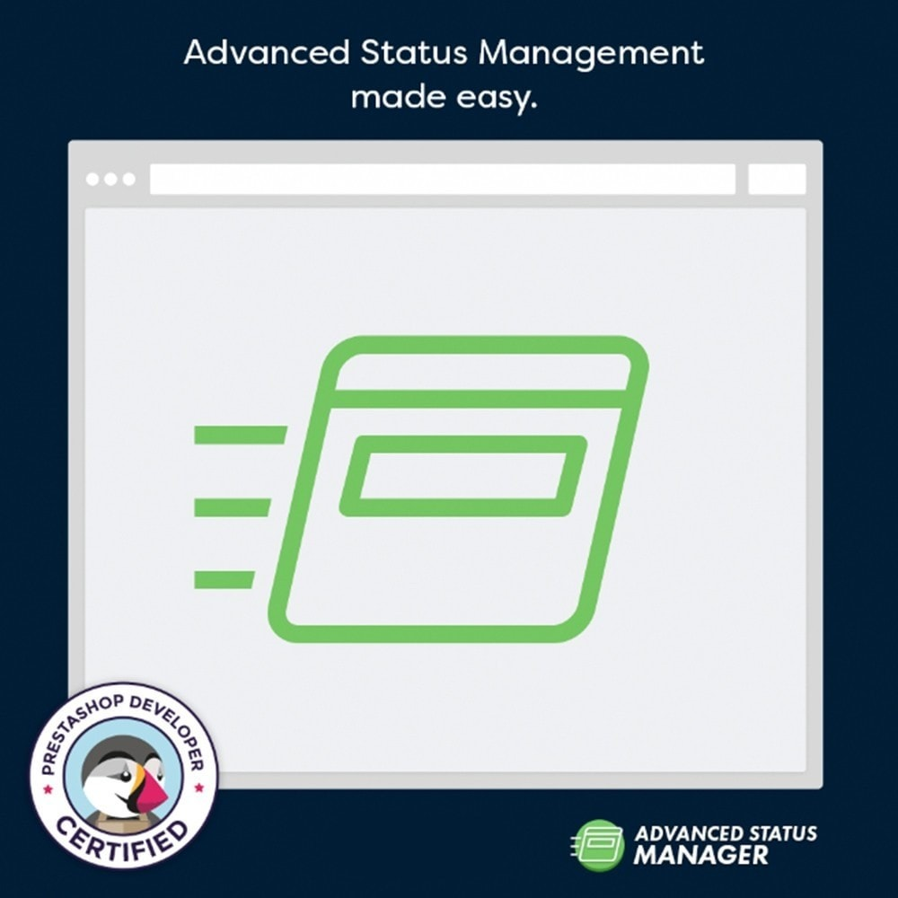 module - Outils d'administration - Advanced status manager - 1
