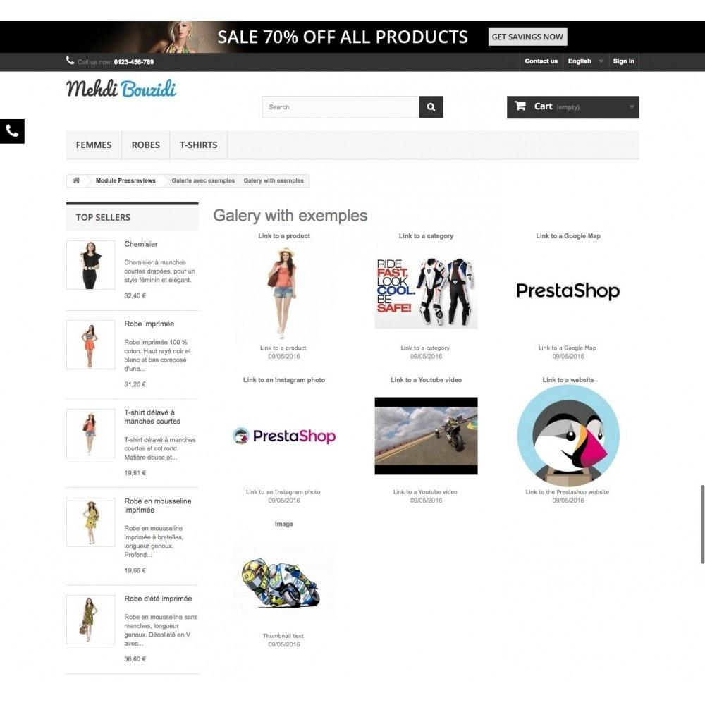module - Sliders y Galerías de imágenes - Galeries - 2